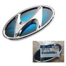 HYUNDAI SONATA YF Hybrid 2011-14 GENUINE Parts Blue H Logo Tail Trunk Emblem