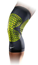 Nike Pro Combat Hyperstrong Knee Sleeve (Large, Black/Volt) New In Package