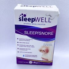 Sleepwell Internal Nasal Dialator - Sleep/Snore - 12 Units EXP 12/2023