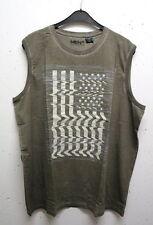 Bequem sitzende ärmellose Herren-Freizeithemden & -Shirts aus Baumwolle