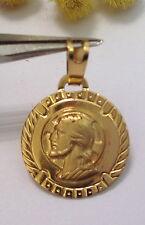 MEDAGLIA RAFFIGURANTE GESU' IN ORO 18KT - 18KT SOLID GOLD JESUS MEDAL