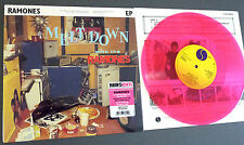 """2014 NEU RSD 10"""" PINK VINYL MELTDOWN WITH THE RAMONES 4Tr. EP Record Store Day"""