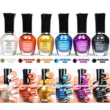 Kleancolor Nail Polish Metallic Collection #02 - Lot of 6 Colors set! Lacquer