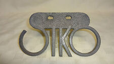 """Vintage Cast Alloy Advertising Sign """"SIKO"""""""