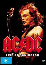 AC/DC ACDC DVD Live At Donington New Sealed Australia Region 4