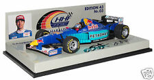 Minichamps 1/43 1996 Sauber Ford C15 base Signed by H HFrentzen