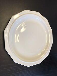 "Pfaltzgraff Heritage White Dinner Plate USA 10 1/8""  VGC"