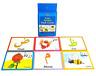 Arabic Alphabet Flash Cards (28 Colourful Cards) (Goodword)