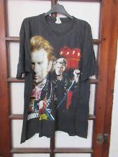 T-shirt JOHNNY HALLYDAY Que je t'aime vintage L