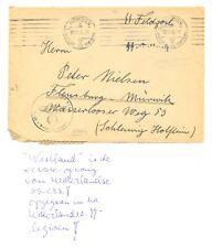 NEDERLAND DUITSLAND 1940 SS WESTLAND - EERSTE OPVANG NED SS LEGIOEN -F/VF