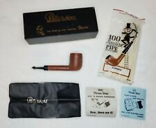 Peterson's Shamrock Kildare Pipe MADE IN IRELAND w/box & bag (5 in. Long) EUC