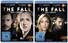 Blu-ray Set * The Fall - Tod in Belfast - Staffel 1+2 * NEU OVP