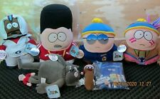 South Park Plush Collection Box5 , 7 New With Tags , Never Displayed , Bulk Lot