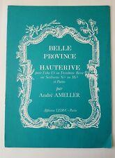 Andre Ameller: Hauterive (Belle Province) (Sheet Music Book)