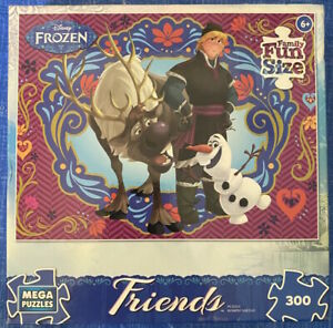 """Mega Puzzle 300 Piece Disney Frozen """"Spring Is In The Air"""" Friends"""