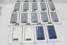 Wholesale Lot of 14 Samsung Galaxy Note 10 Leather Cases - Silver, White, & Blue