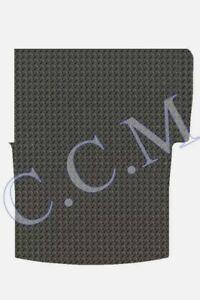 Vw Caddy mats Van SWB (2004-Date) New Black Rubber Rear Load Area Floor Mat