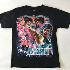 Vintage 90s Michael Jackson King of Pop T-Shirt by Rock Tees Size M RARE!!