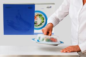 Teller-Topper Vakuum-Abdeckung Mikrowellen-Abdeckhaube für Lebensmittel