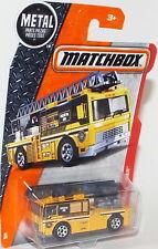 Brand New Matchbox Die Cast Flame Tamer Fire Dept. Ladder Truck Co. 698