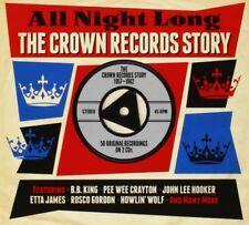 ALL NIGHT LONG-CROWN ( JOE HOUSTON, MARVIN & JOHNNY, THE JACKS, ...) 2 CD NEUF