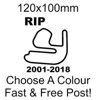 Rockingham Circuit Sticker Race track decal motorcycle car van bumper decal RIP