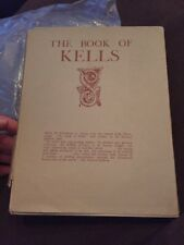 The Book of Kells~1933 HcVg~Sir Edward Sullivan~24 Color Plate~4th Edition