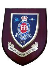 7th Parachute Regiment RHA Wall Plaque Royal Horse Artillery Uk Hand Made MOD