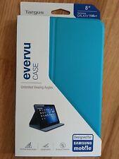 "Etui support Targus pour Samsung galaxy Tab 4 (8"") bleu (NEUF)"