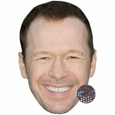 Donnie Wahlberg Celebrity Mask, Flat Card Face