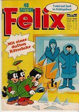 FELIX Bastei Nr. 820 (1-2) schöner Zustand mit Magazin - Spielseiten