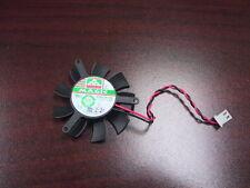 45mm Black MGA5012XB-O10 2Pin Fan For VGA Video Card nVIDIA ATI 39*39*39mm