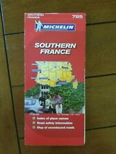 MICHELIN MAP FRANCE, SOUTH 725
