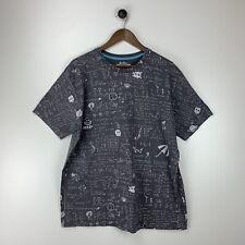 threadless t shirt Script X-Large Men's Gray