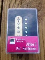 Seymour Duncan APH-1n Alnico II Pro Humbucker Pickup Neck Zebra - Brand New!
