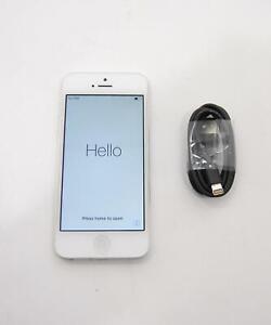 "Apple iPhone 5 A1429 16GB 4"" White Smartphone CDMA AT&T Sprint TMobile"