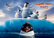 HAPPY  FEET A3 GLOSSY POSTER A