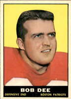 1961 Topps Football #96 - #198 Complete your set. Pick your card.