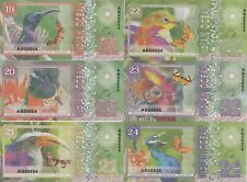 Indian Ocean Set 6 banknotes 19-24 dollars 2018 year UNC (private issue)