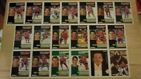 MONTREAL CANADIENS ~ 1991-92 Pinnacle French TEAM SET ~ 19 Cards ~ LECLAIR RC