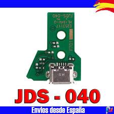 PLACA PARA MANDO PS4 PLAYSTATION 4 JDS 040 CONECTOR CARGA MICRO USB 12 PIN