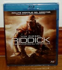 RIDDICK-MOUNTING DEL DIRECTOR-VERSION FILM-BLU-RAY-SEALING-SEALED