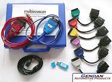 MultiECUScan Hardware & Software Diagnostic Bundle PLUS for Fiat, Alfa & Lancia