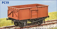 BR 16t Mineral Vacuum Fitted - OO gauge - Parkside PC19