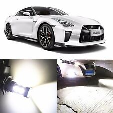 Alla Lighting Fog Light H11 H8 6000K Super White LED Bulbs for Nissan Juke Leaf