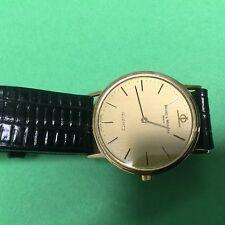 SWISS Baume Mercier 14k SOLID Gold  Quartz Watch.  Excellent!.