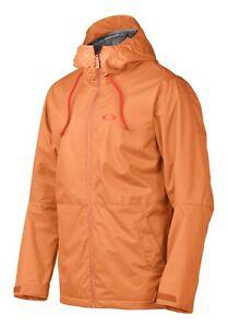 Mens Oakley Recon Snow Ski Snowboard Jacket Cinnamon Orange XS S M L XL XXL