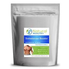 Testosterone MASCHIO LIBIDO Boost Pillole crescita muscolare POWER Enhancer Pillole
