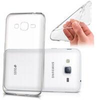 Housse Etui Coque Gel UltraSlim TRANSPARENT pour Samsung Galaxy J3 Pro