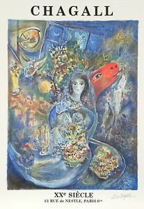 Marc Chagall, XX Siecle, Lithograph Poster